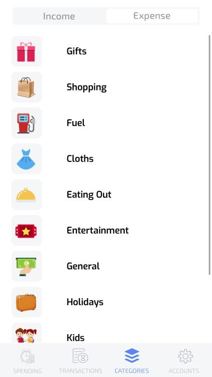 Spending-Tracker screenshot-4