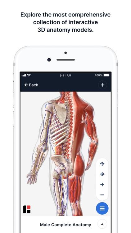 BioDigital Human - 3D Anatomy screenshot-0