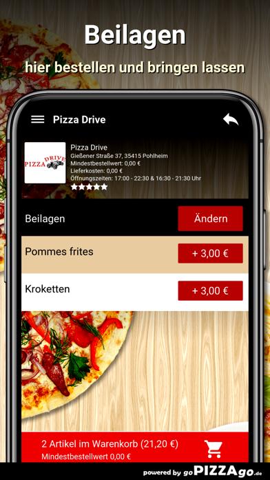 Pizza Drive Pohlheim screenshot 6