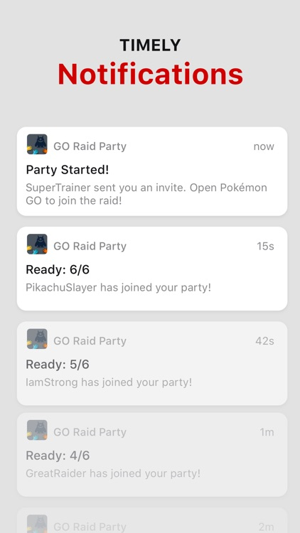 GO Raid Party screenshot-3