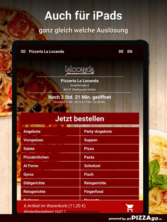 Pizzeria La Locanda Oberhausen screenshot 7