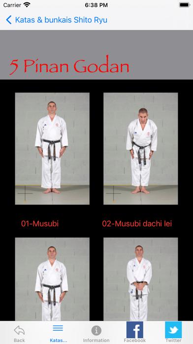 KATAS SHITO-RYU2 screenshot 3