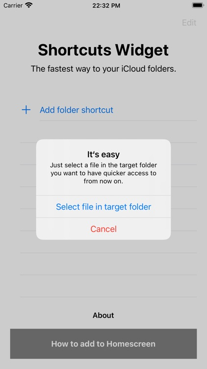 Folder Shortcuts @ Homescreen screenshot-3