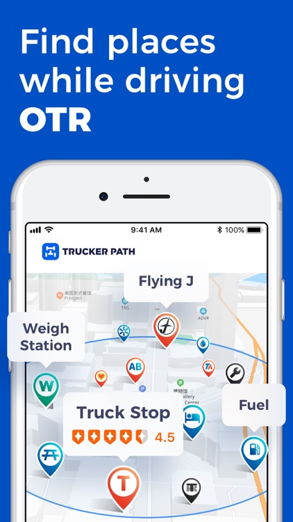 Trucker Path: Truck GPS & Maps