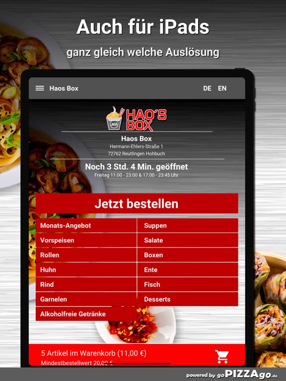Haos Box Reutlingen Hohbuch screenshot 7