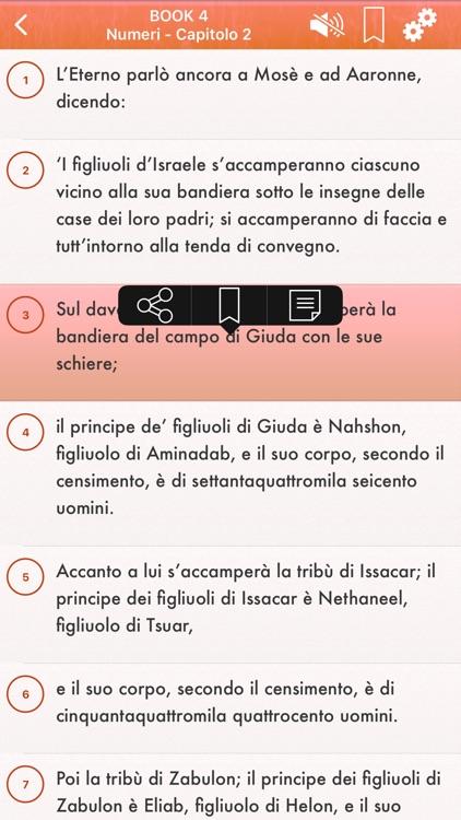 Italian Bible Audio Riveduta screenshot-3