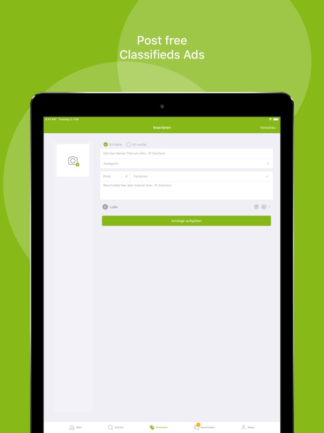 ebay kleinanzeigen app kostenlos