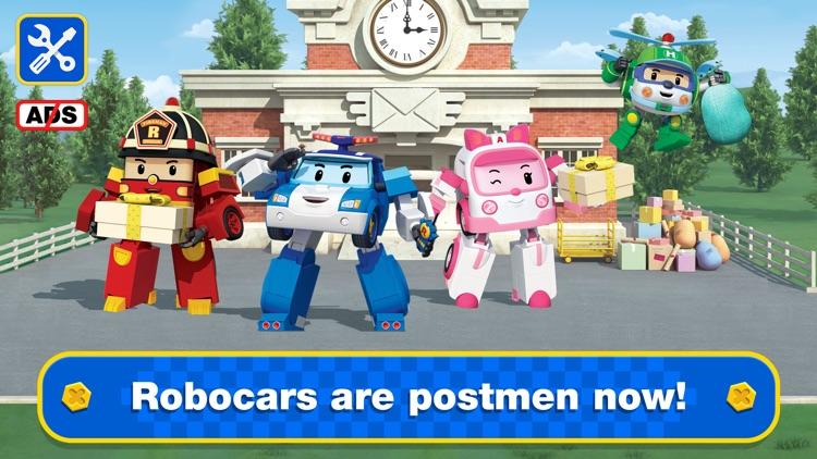 Robocar Poli Postman Games! screenshot-0