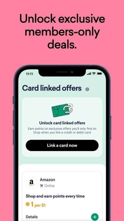 Drop: Deals & Cash Back App screenshot-3