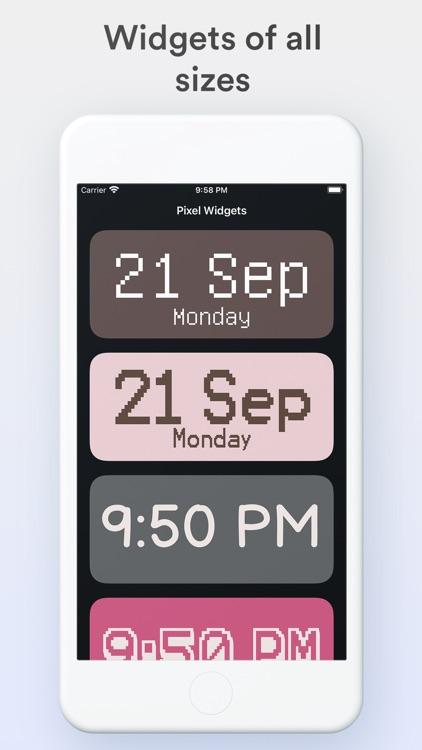 Pixel Widgets screenshot-6