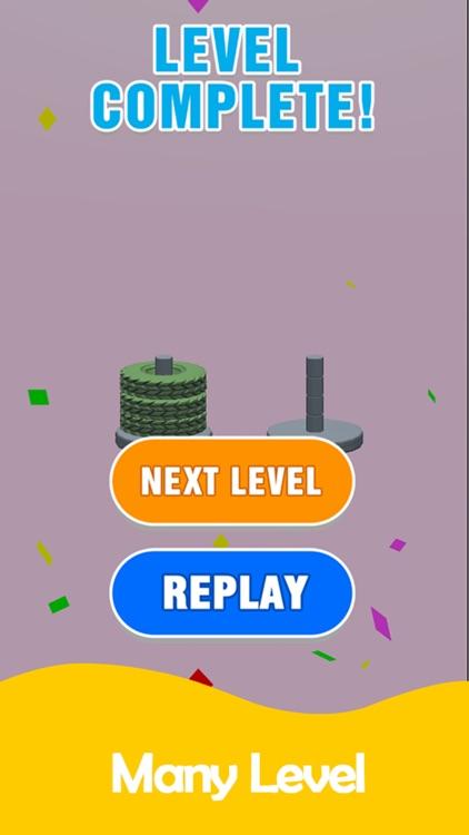 Stack Sort - Color Hoop screenshot-4
