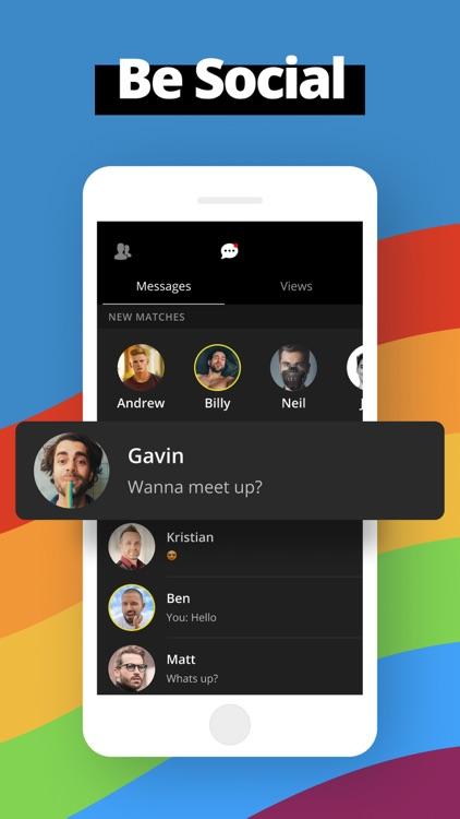 Gay Dating App - Video Chat screenshot-3