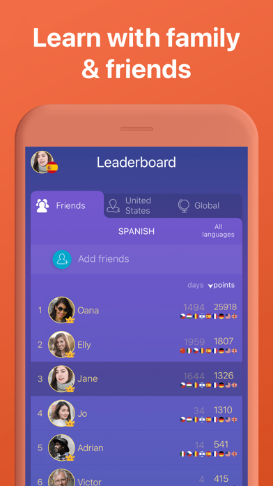 Learn 33 Languages with Mondly Screenshot