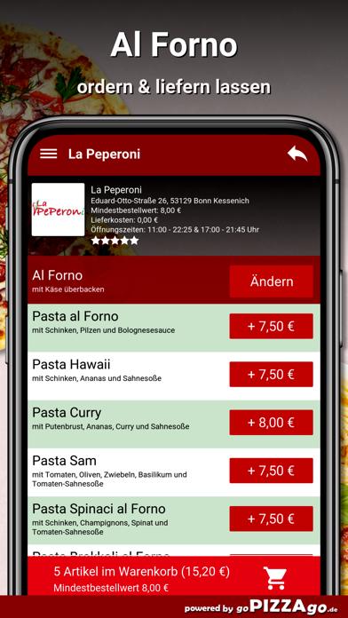 La Peperoni Bonn Kessenich screenshot 6