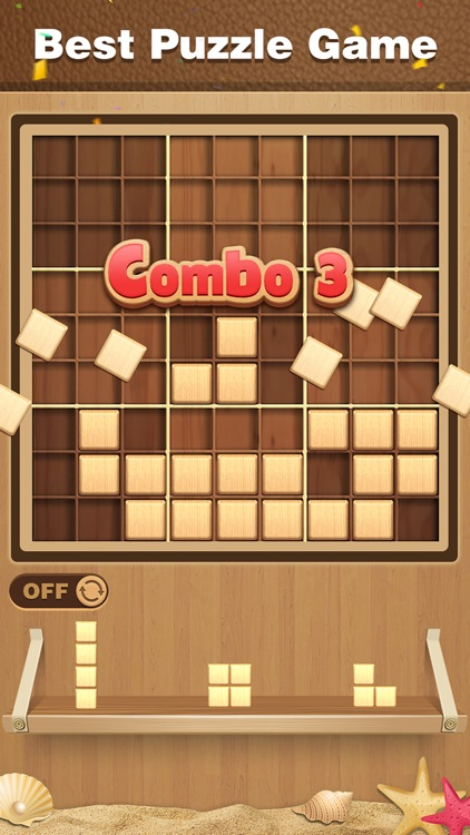 Wood Block Sudoku Puzzle screenshot-1