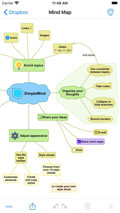 SimpleMind - Mind Mapping