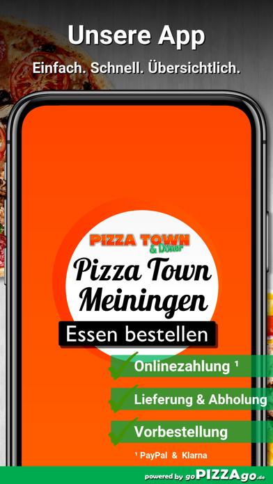Pizza Town & Döner Meiningen screenshot 1