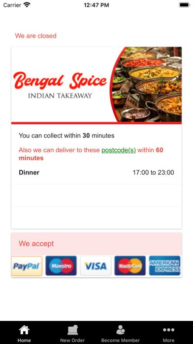 Bengal Spice - Indian Takeaway screenshot 2