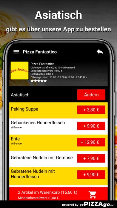Pizza Fantastico Gröbenzell screenshot 6