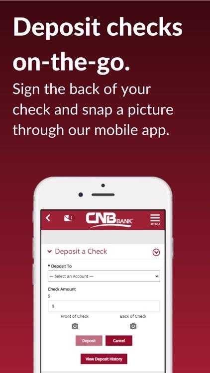 CNB Bank goMobile screenshot-3
