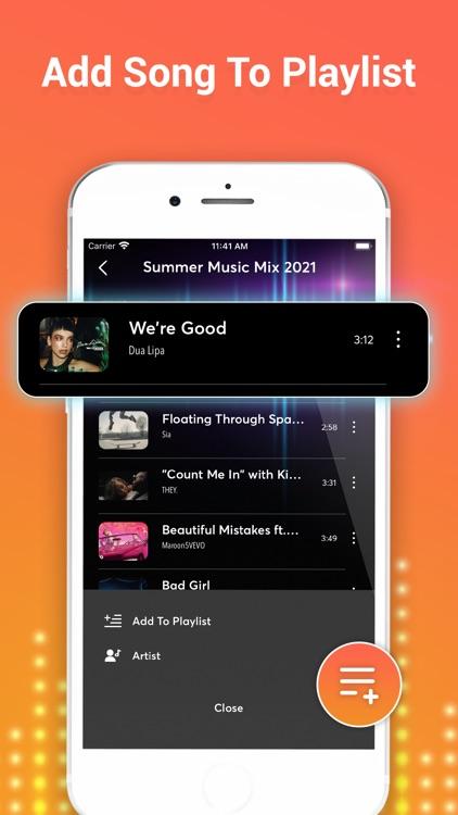 iMusic - Play Tube Video Music screenshot-4