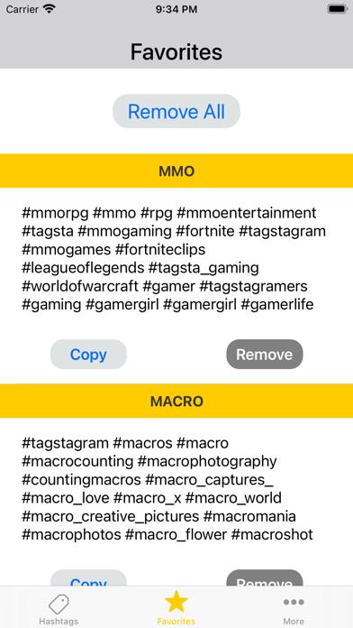 Best Hashtags for Insta Screenshot
