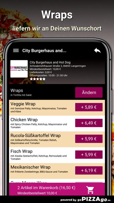 City Burgerhaus and Hot Dog screenshot 6