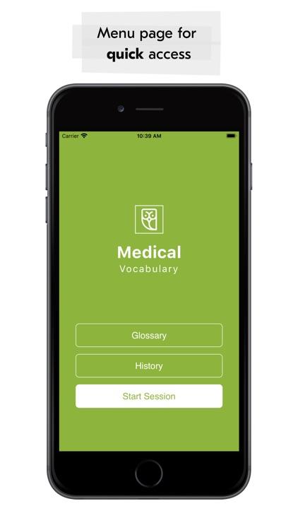 Medical Vocabulary Flashcards