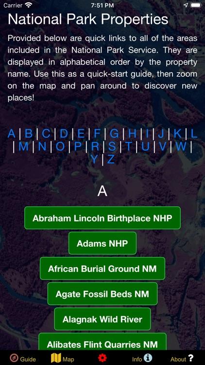 US National Parks Map & Guide! screenshot-5