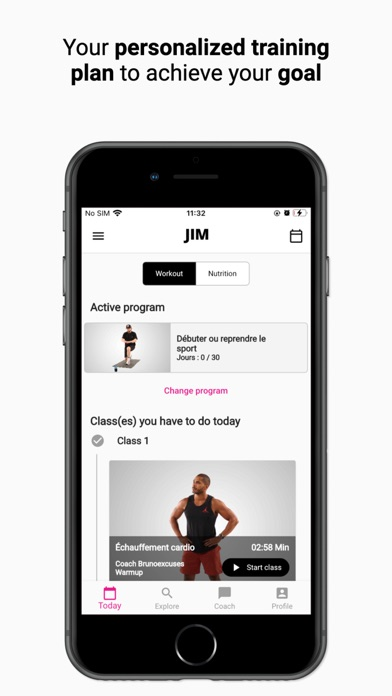 messages.download JIM: Remote private coaching software