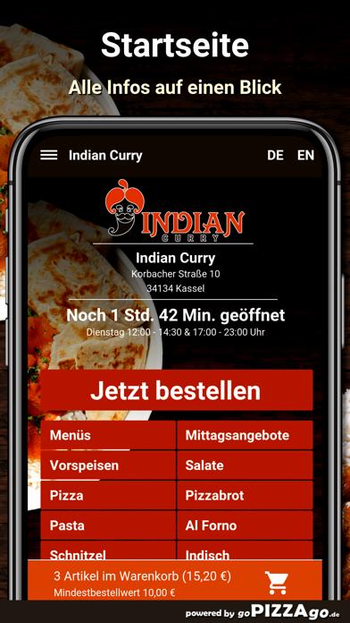 Indian Curry Kassel screenshot 2