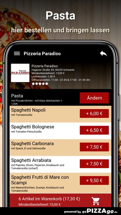 Pizzeria Paradiso Schwerte screenshot 6
