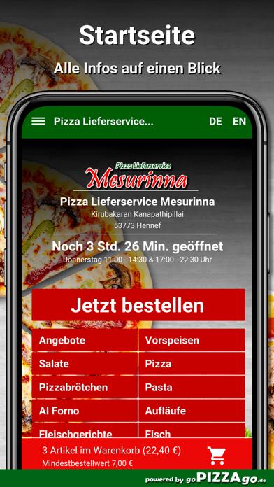 Mesurinna Hennef Lieferservice screenshot 3