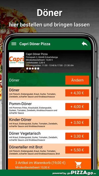 Capri Pizza Eckartsberga screenshot 6