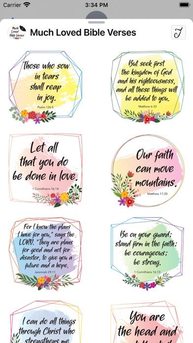 Much Loved Bible Verses Screenshot