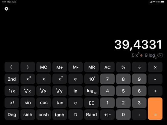 iPad Image of Calculator Air - Math Calc