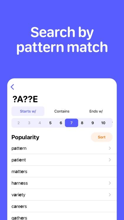 Word & Anagram Finder screenshot-3