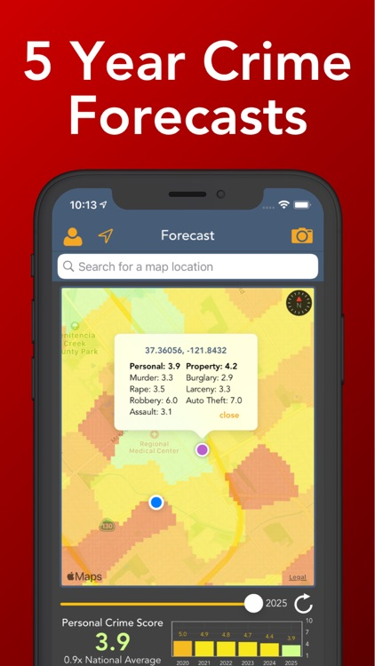 Crime and Place: The Crime App screenshot-3