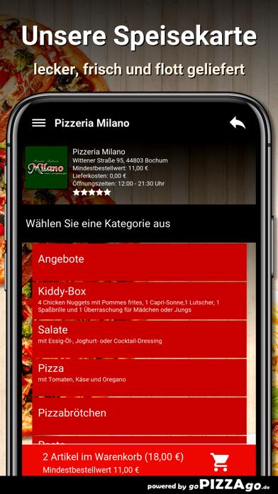 Pizzeria Milano Bochum screenshot 4