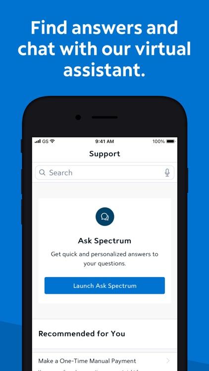 Spectrum Mobile Account screenshot-5