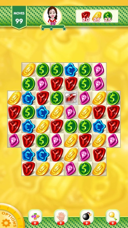 Match 3 Coin Jewel Blast