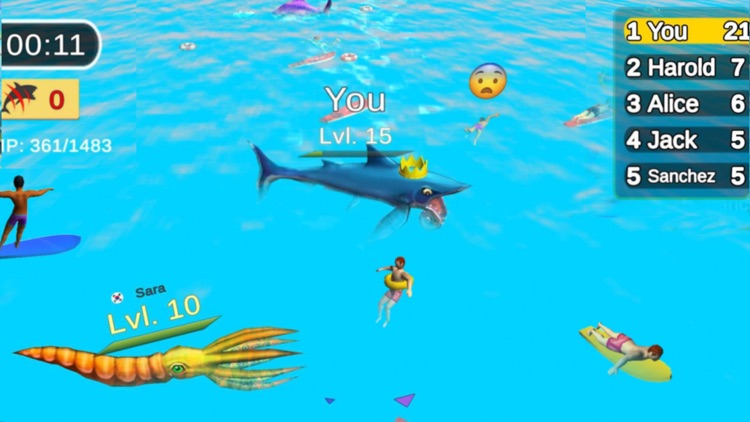 Sea Monster City - Battle Game screenshot-3
