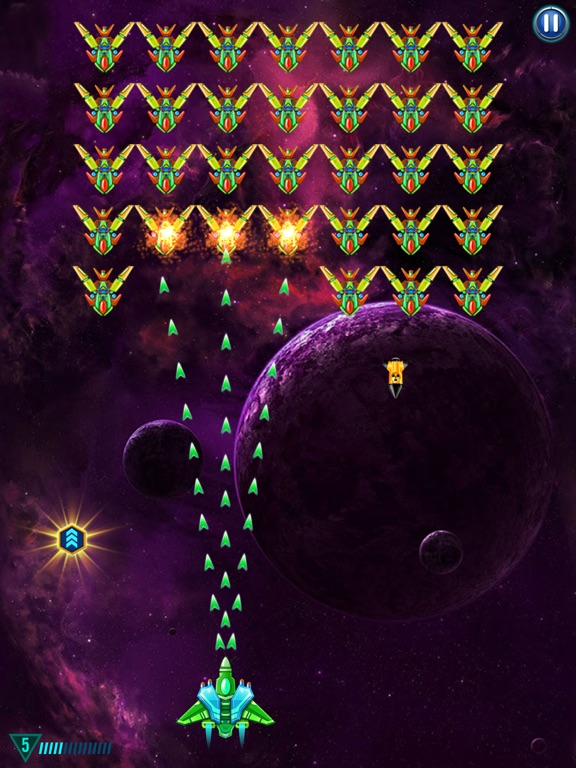 Galaxy Attack Alien Shooter By Abigames Pte Ltd Ios United