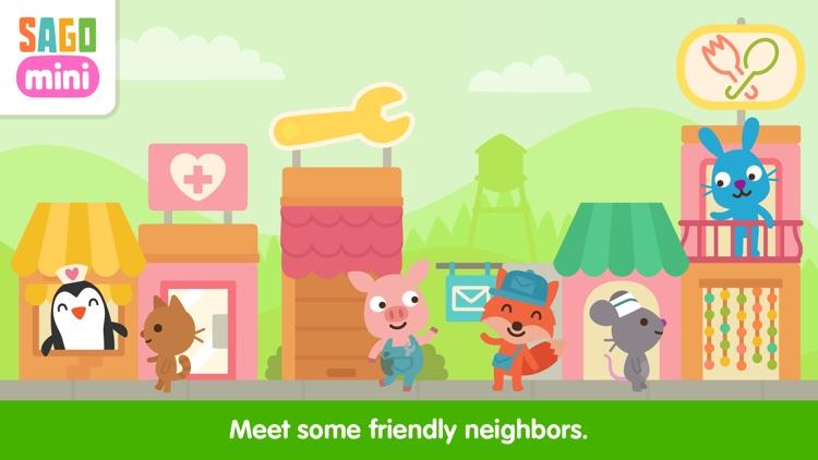 Sago Mini Neighborhood Blocks