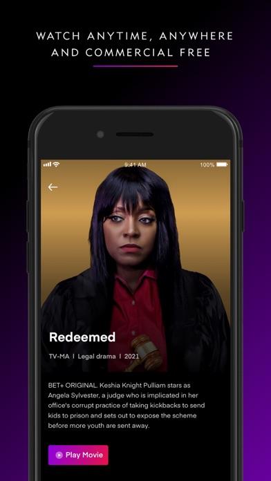 BET+ Screenshot