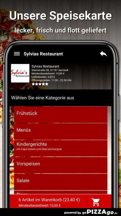 Sylvias Restaurant Sarstedt screenshot 4