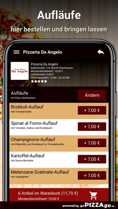 Pizzeria Da Angelo Oberhausen screenshot 6
