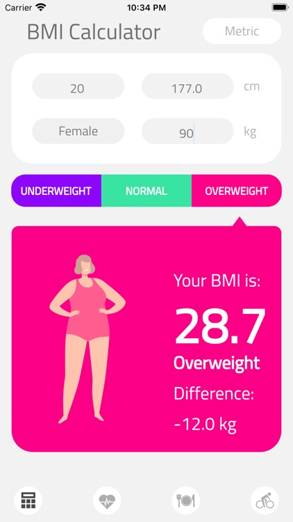 BMI Calculator Health screenshot-8