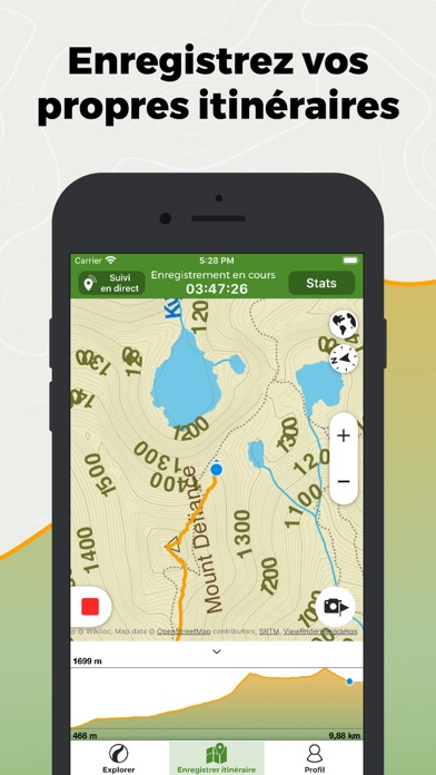 Screenshot #2 pour Wikiloc Navigation Outdoor GPS