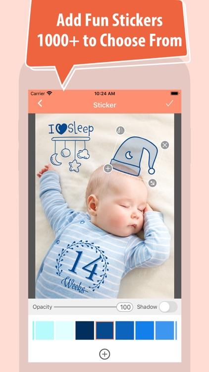 Baby Photo Editor + screenshot-3